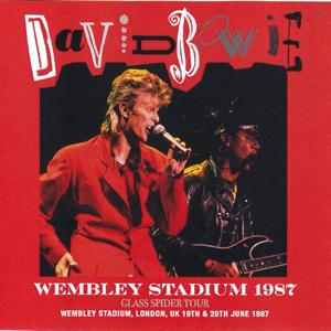 David Bowie 1987-06-19/20 London ,Wembley Stadium - Wembley Stadium 1987 - SQ -8