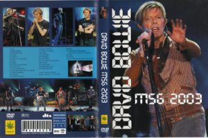 David Bowie 2003-12-15 New York City ,Madison Square Garden - MSG 2003 -