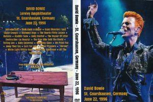 David Bowie 1996-06-22 St.Goarshausen ,Loreley ,Open Air Festival