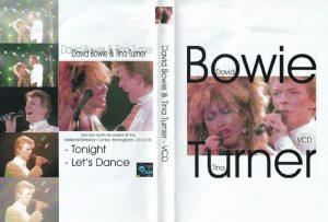 David Bowie 1985-03-23 Birmingham ,National Exhibition Centre - David Bowie & Tina Turner -