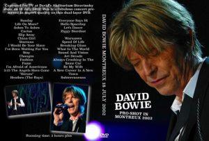 David Bowie 2002-07-18 Montreux ,Auditorium Stravinski – Montreux 18 July 2002 – (36th Montreux Jazz Festival)