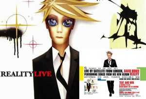 David Bowie 2003-09-08 London ,Hammersmith ,Riverside Studios - Reality Live - (Warm up show)