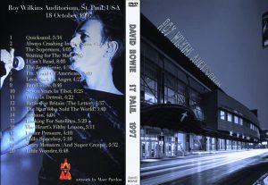 David Bowie 1997-10-18 St. Paul ,Roy Wilkins Civic Auditorium - St. Paul 1997 -