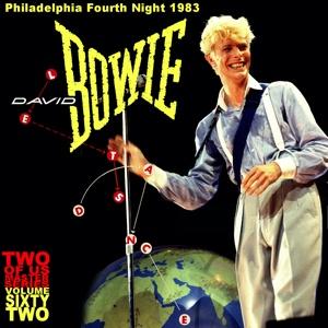 David Bowie 1983-07-21 Philadelphia ,The Spectrum Arena - Philadelphia Fourth Night 1983 - (Two Of Us Master Volume 62) - SQ 8