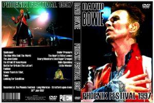 David Bowie 1997-07-20 Stratford upon Avon ,Phoenix Festival - Phoenix Festival 1997 -