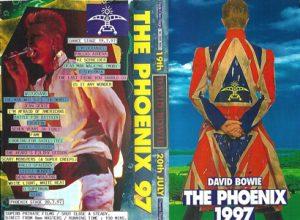 David Bowie 1997-07-19 Stratford upon Avon ,Phoenix Festival - The Phoenix 1997 -